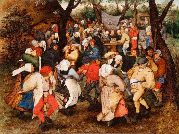 Wedding Dance in the Open Air (1607–14), Pieter Brueghel the Younger. Holburne Museum, Bath. Photo: Dominic Brown