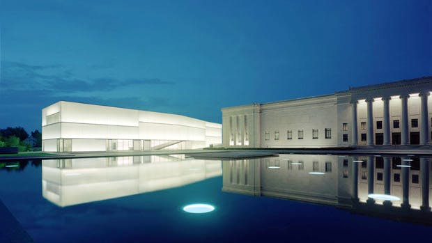 The Nelson-Atkins Museum of Art in Kansas City, MO. Photo: Tim Hursley. Courtesy the Nelson-Atkins Museum of Art