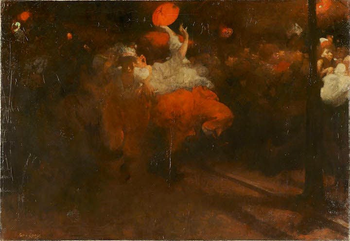 Orange Day Festivities (ca. 1890), Jacobus van Looy. Rijksmuseum