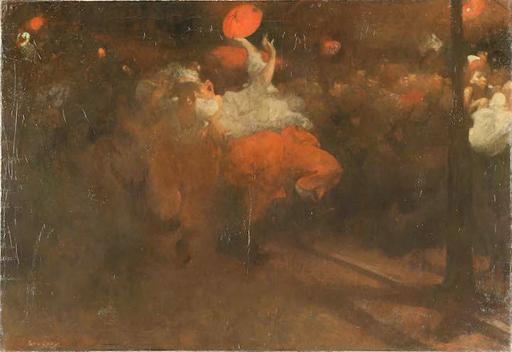 Orange Day Festivities (ca. 1890), Jacobus van Looy. Rijksmuseum