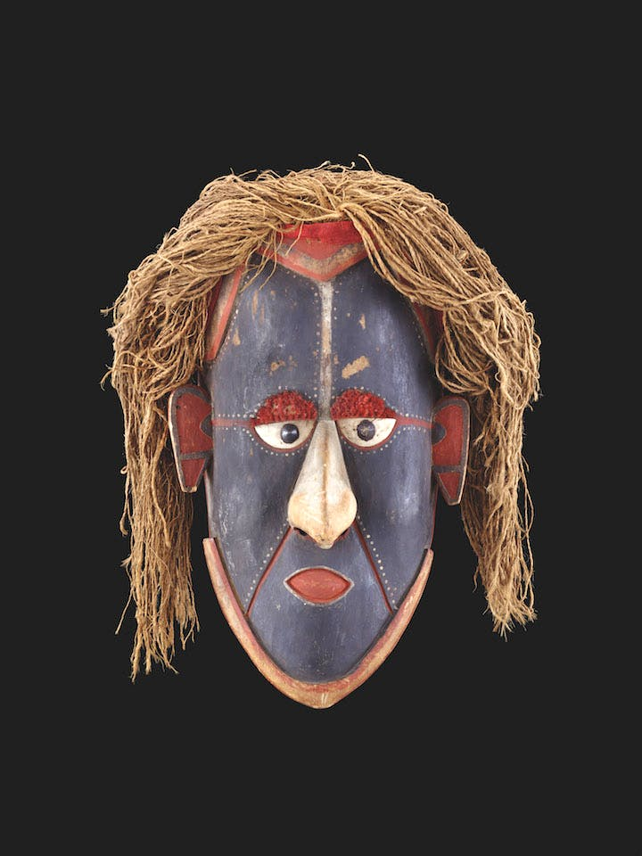 Mawa Masque (early 20th century), Queensland, Australia. Photo: © MEG, J. Watts