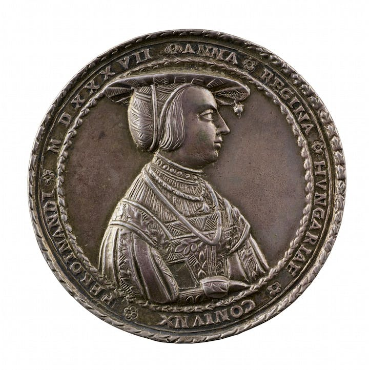 Anne of Bohemia (dated 1537), Wolf Milicz. Photo: Michael Bodycomb