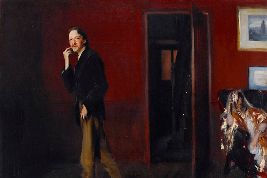 Robert Louis Stevenson and His Wife (1885), John Singer Sargent. Photo: Dwight Primiano, Courtesy of the Morgan Library & Museum