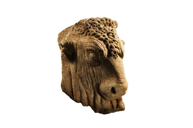 Head of a bull (2nd century), Roman. Rupert Wace Ancient Art, £90,000