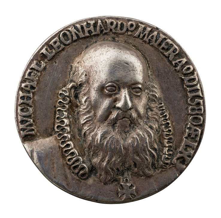 Michael Leonhard Maier (dated 1580), attributed to Balduin Drentwett. Photo: Michael Bodycomb