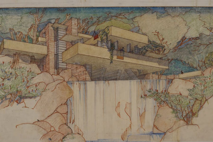 fallingwater architectural styles modern architecture