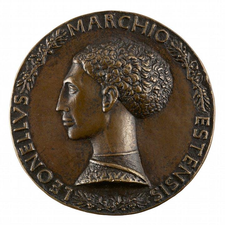 Leonello d'Este, Marquess of Ferrara (ca. 1445), Pisanello. Photo: Michael Bodycomb