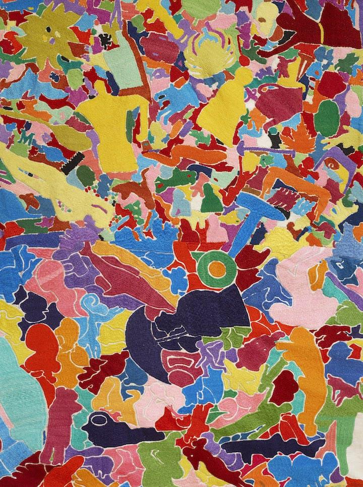 Tutto (1992–94), Alighiero Boetti. Courtesy Tornabuoni Art