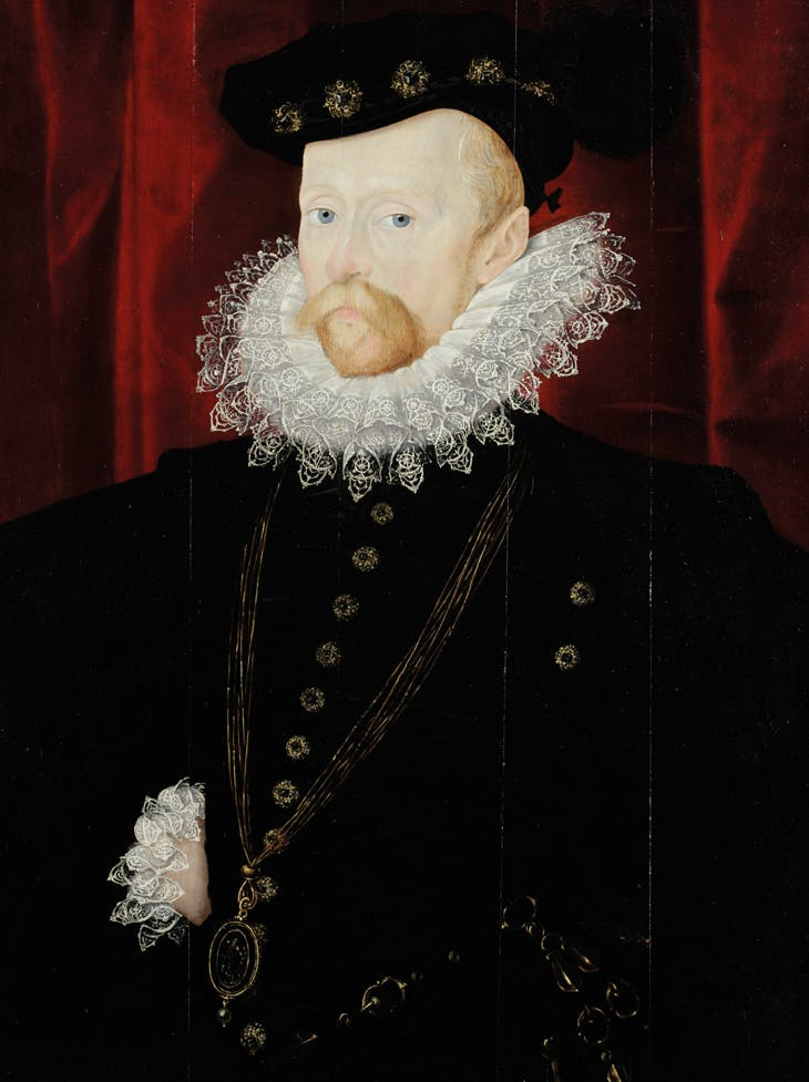 Sir Amias Paulet (c. 1533–1588) (1576–78), attributed to Nicholas Hilliard