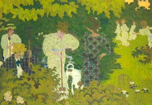 Crépuscule (detail; 1892), Pierre Bonnard. © RMN-Grand Palais (musée d'Orsay) / Hervé Lewandowski / distributed by AMF