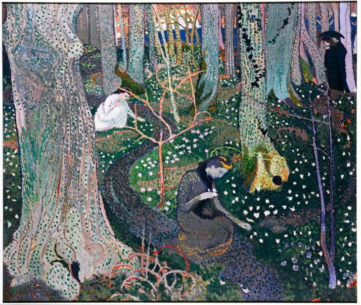 April (The Anemones) (1891), Maurice Denis. ©Maurice Denis, VEGAP, Bilbao, 2017