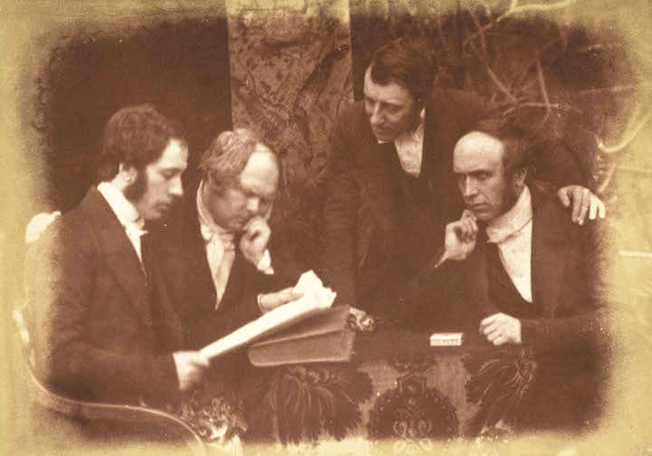 Dumbarton Presbytery. Rev. William Alexander, - McMillan of Cardross, Rev. James Smith (or Goodsir) and Rev. John Pollock (1843-47), David Octavius Hill and Robert Adamson. Scottish National Portrait Gallery