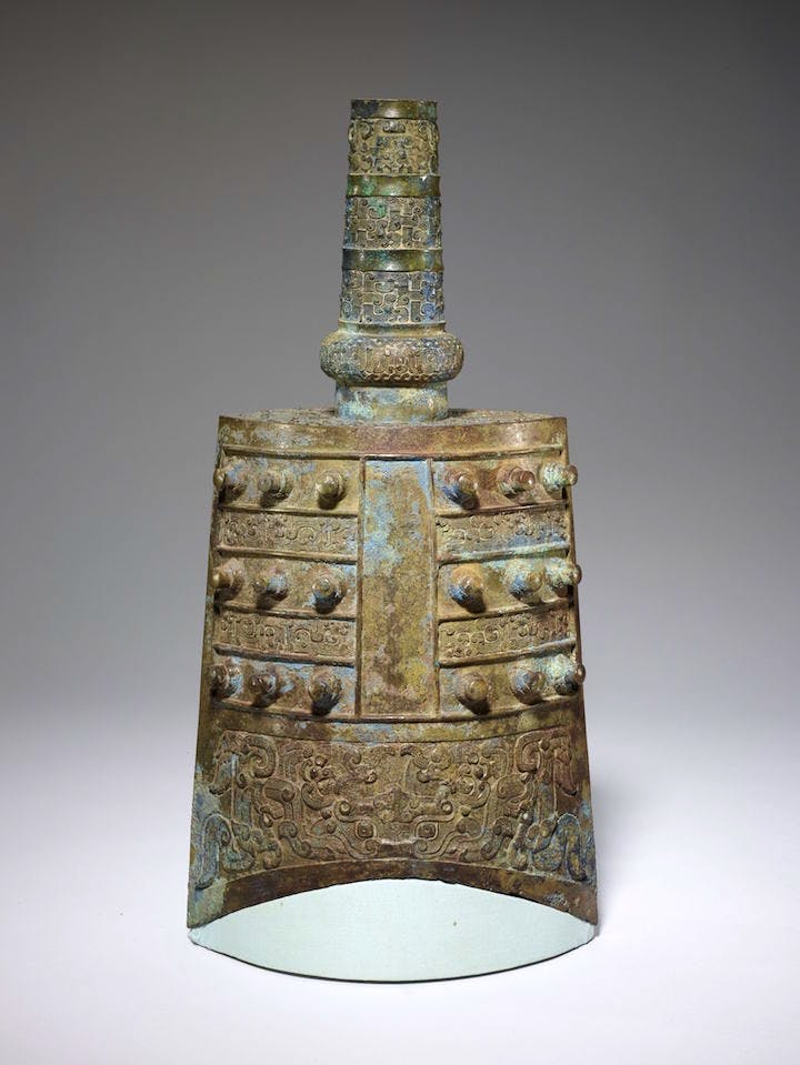 Yongzhong Ceremonial Bell, 6th-5th century BCE, bronze. Photo: Minneapolis Institute of Art