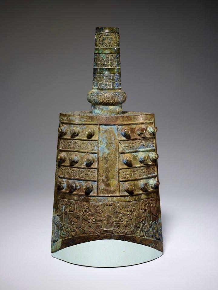 Yongzhong Ceremonial Bell, 6th-5th century BCE, bronze. Photo: Minneapolis Institute of Art