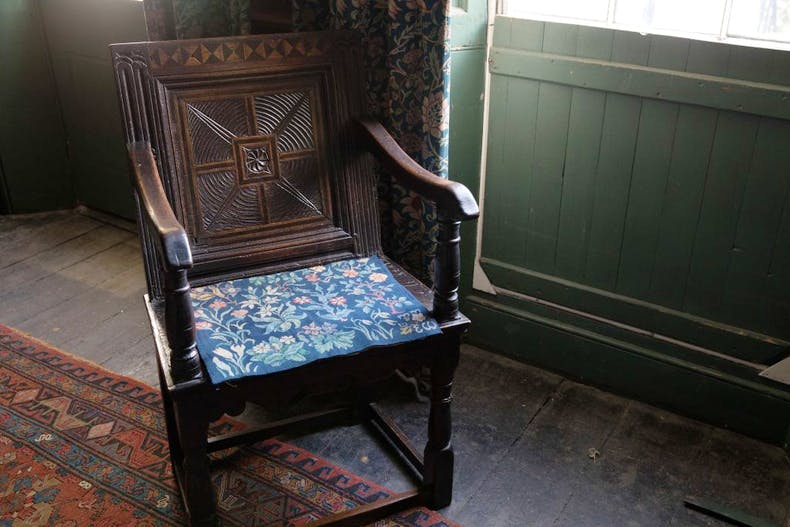 17th-century belonging to May Morris. Photo: Anna Kunst
