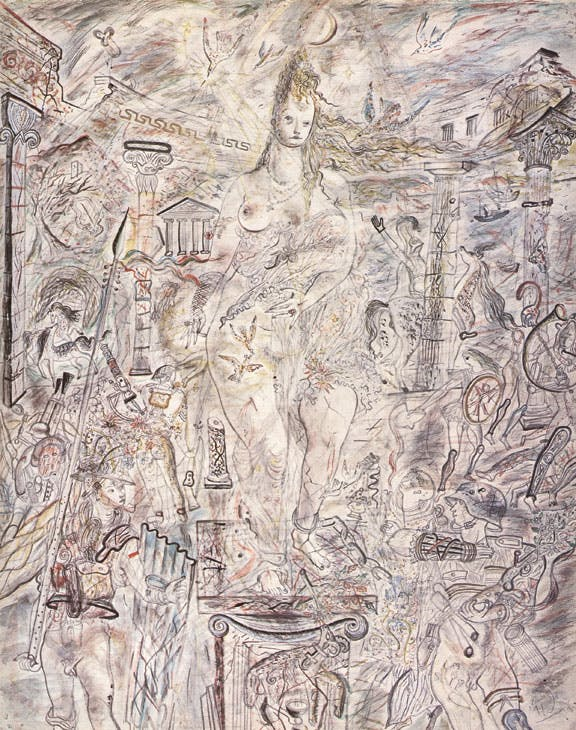 Aphrodite in Aulis (1940–41), David Jones. Tate Collection. © the Estate of David Jones