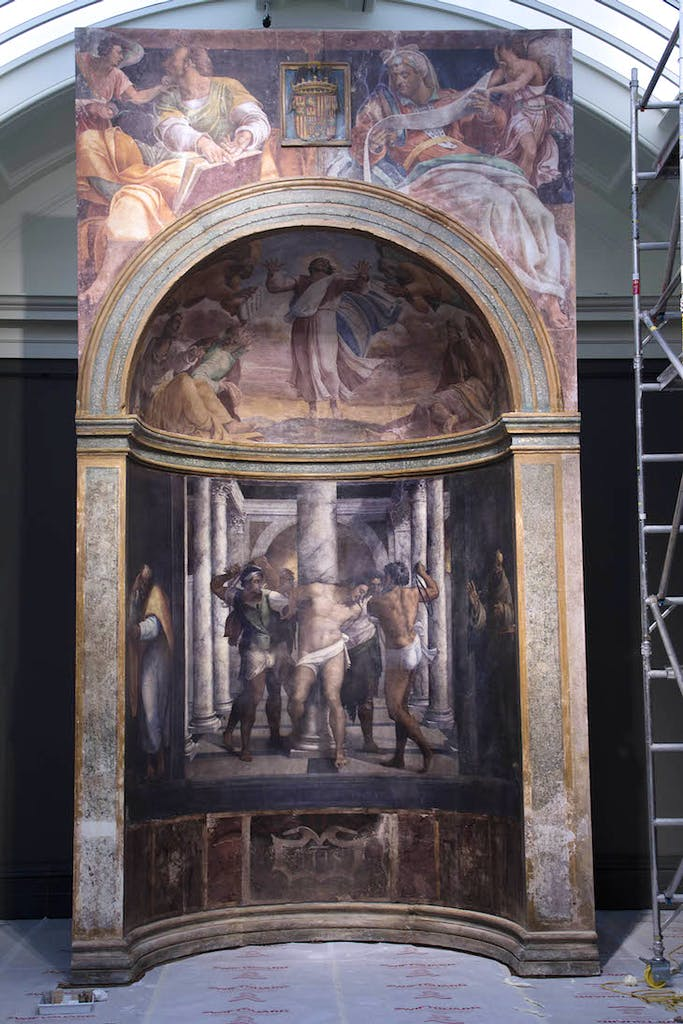 The recreation of the Borgherini Chapel