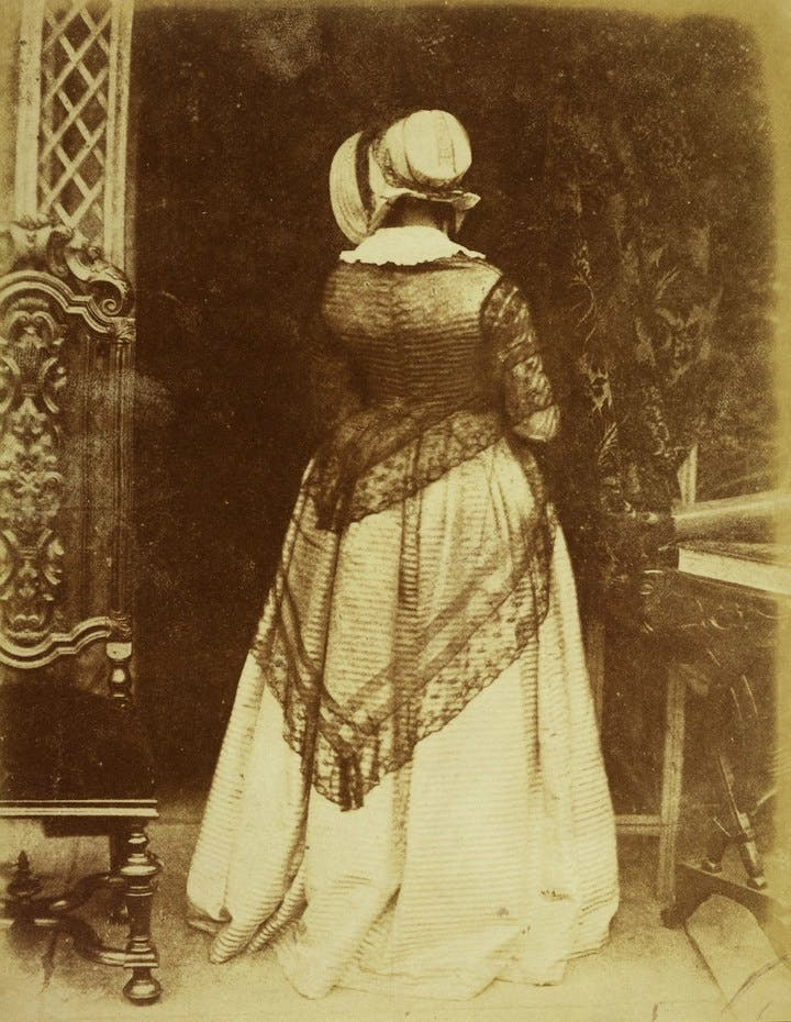 Lady Mary Hamilton (Campbell) Ruthven, 1789 - 1885. Wife of James, Lord Ruthven (1843–47), David Octavius Hill and Robert Adamson. Scottish National Portrait Gallery
