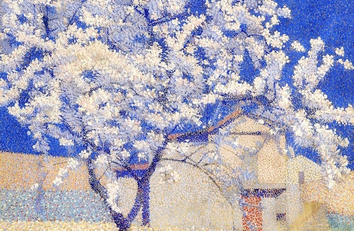 The Flowering Tree (detail; 1893), Achille Laugé. ©Achille Laugé, VEGAP, Bilbao, 2017