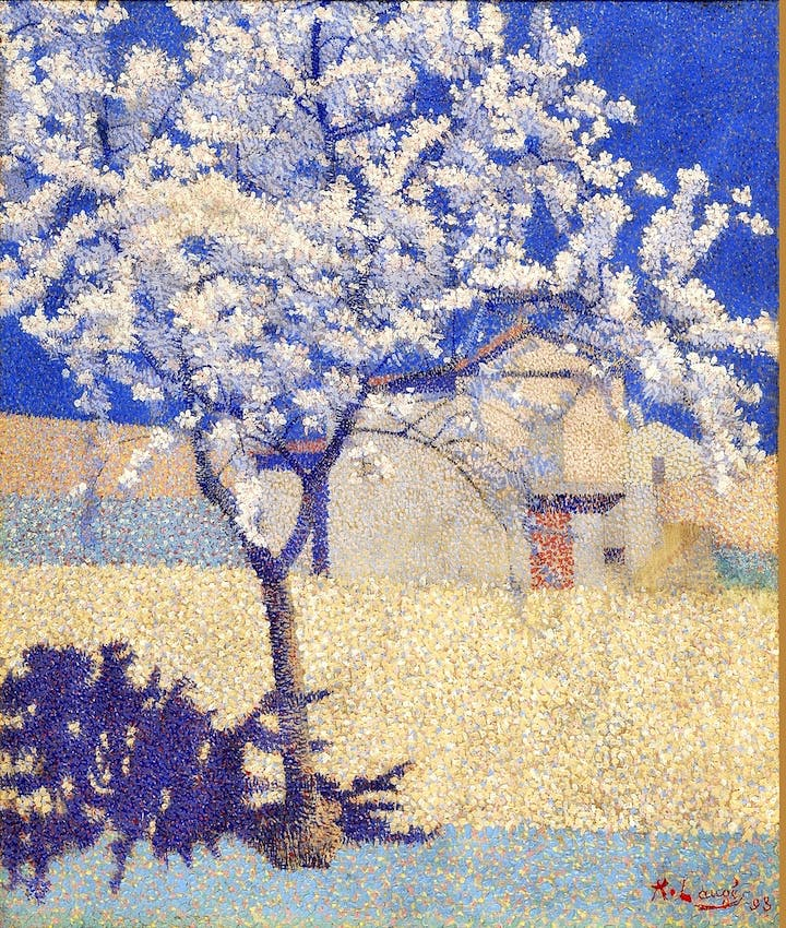 The Flowering Tree (1893), Achille Laugé. ©Achille Laugé, VEGAP, Bilbao, 2017