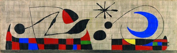 Mur de la Lune (Wall of the Moon), 1955), Joan Miró. Dickinson Roundell