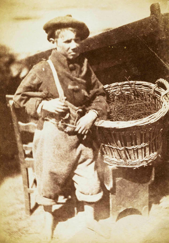 Newhaven boy ('King Fisher' or 'His Faither's Breeks') (1843–47), David Octavius Hill and Robert Adamson. Scottish National Portrait Gallery