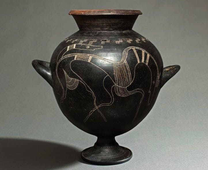 Olla, (c. 600 BC), Italy, Faliscan. Charles Ede