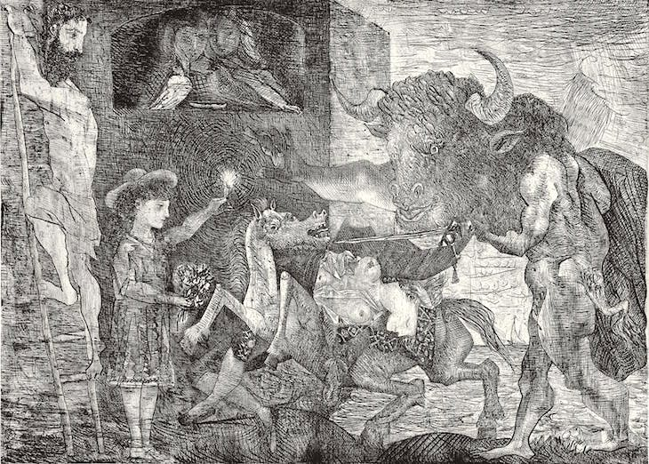 La Minotauromachie VII (1935), Pablo Picasso