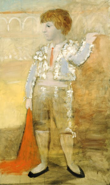 Portrait de Paul en torero (1925), Pablo Picasso. Private collection. Photo: Robert McKeever; Courtesy Gagosian; © 2017 Estate of Pablo Picasso / Artists Rights Society (ARS), New York