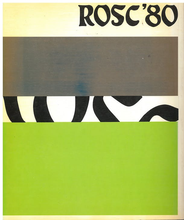 Front cover of the catalogue to accompany the ROSC '80 exhibition