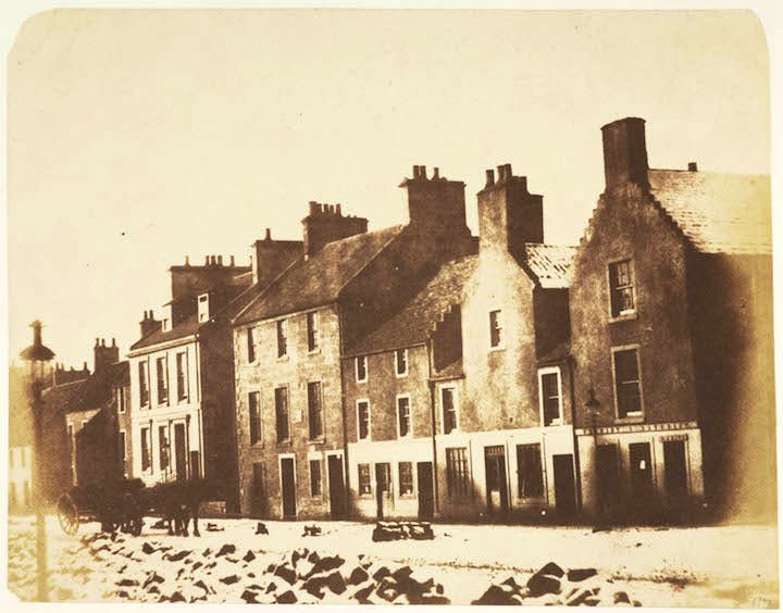 South Street, St Andrews (1842–43), David Octavius Hill and Robert Adamson. Scottish National Portrait Gallery