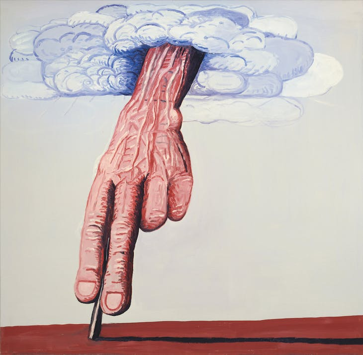 The Line (1978), Philip Guston.