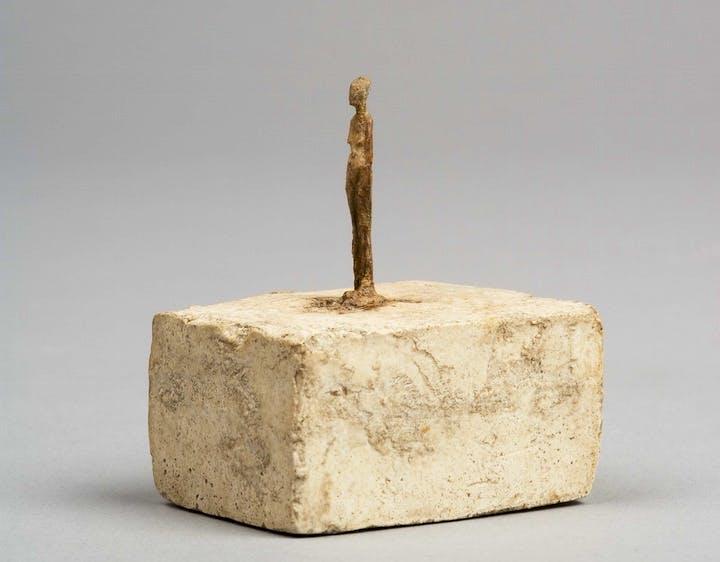 Very Small Figurine (c. 1937–39), Alberto Giacometti. © Alberto Giacometti Estate, ACS/DACS, 2017
