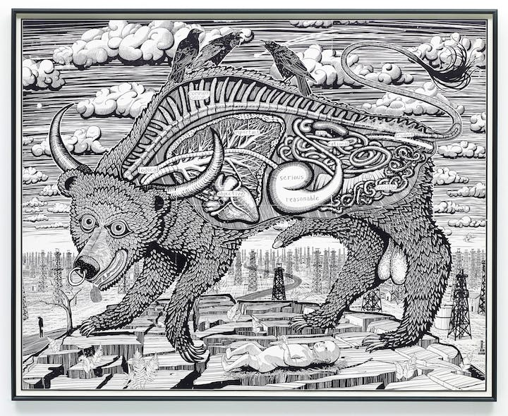 Animal Spirit (2016), Grayson Perry. Photography: Stephen White © Grayson Perry