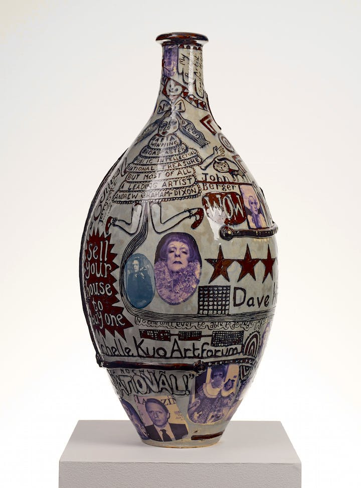 Puff Piece (2016), Grayson Perry. Photography: Stephen White © Grayson Perry