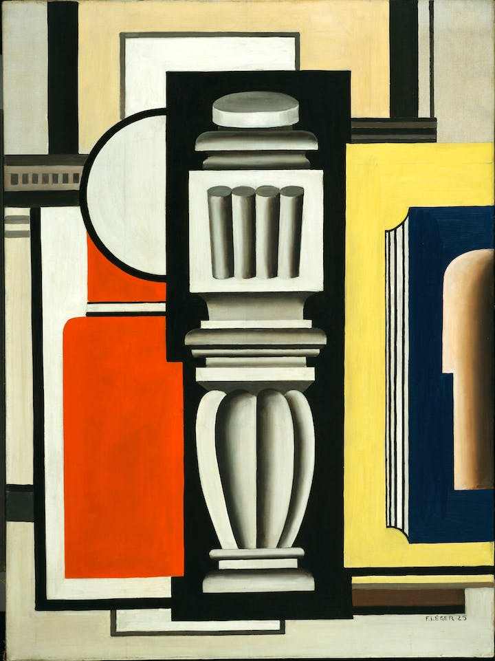 Le Balustre (1925), Fernand Léger. © 2017 Digital image, The Museum of Modern Art, New York/Scala, Florence. © Adagp, Paris, 2017