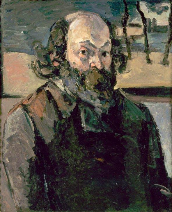Portrait de l'artiste (c. 1875), Paul Cézanne. © Photo musée d'Orsay Dist. RMN-Grand Palais / Patrice Schmidt