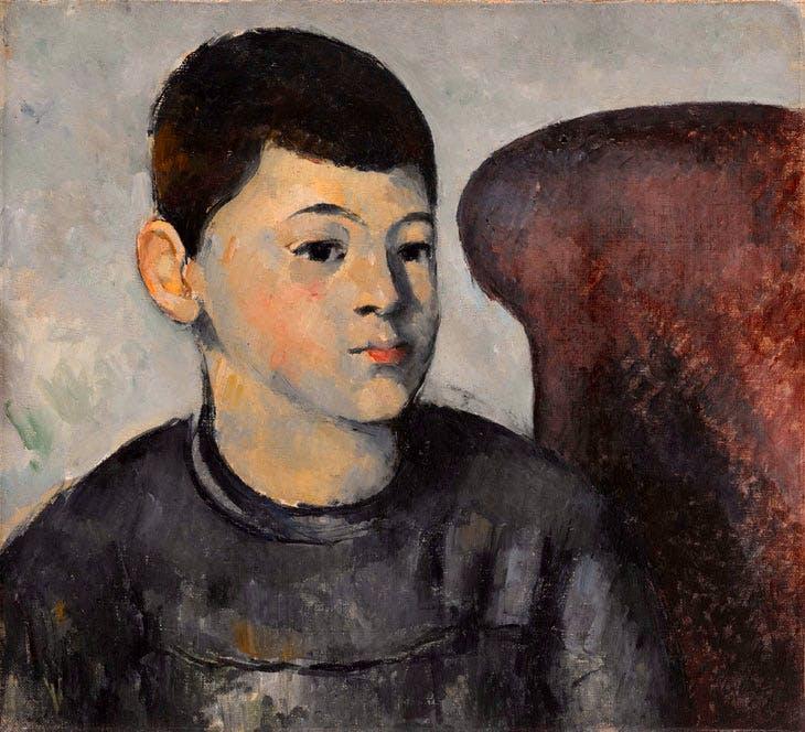 Portrait du fils de l'artiste (1881–82), Paul Cézanne. © RMN-Grand Palais (musée de l'Orangerie) / Franck Raux