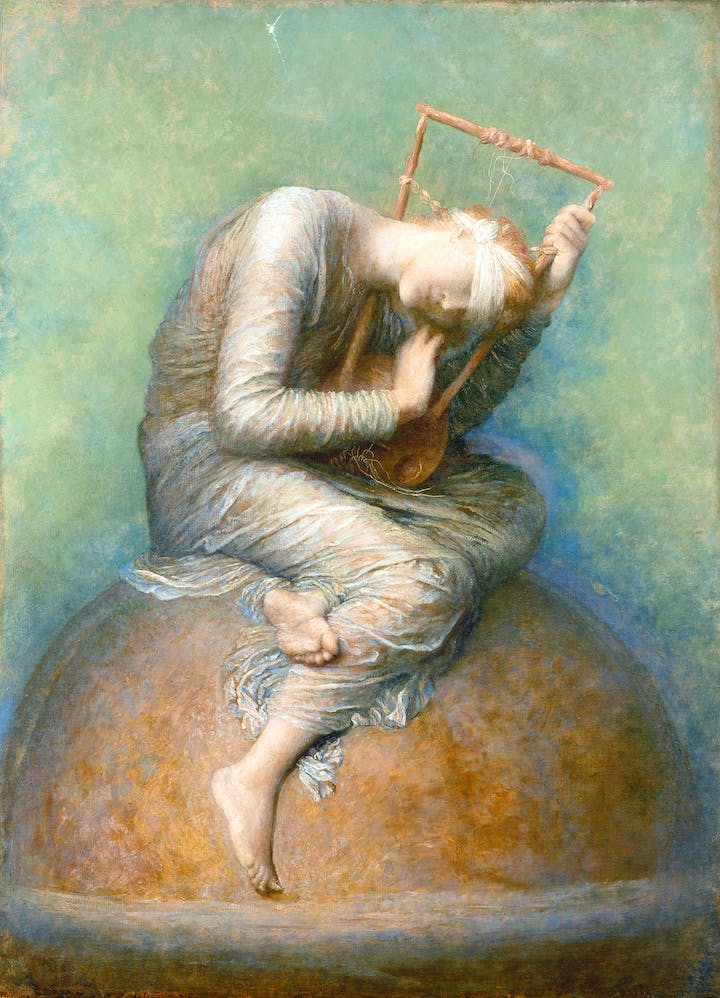 Hope (1885–86), G. F. Watts. Private Collection