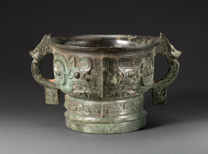 Gui Bowl with 'Snails', Western Zhou Dynasty. © Shanghai Museum