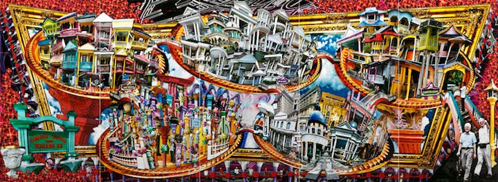 City of Towering Columns (2009), Liew Kung Yu. Courtesy of the Mori Art Museum