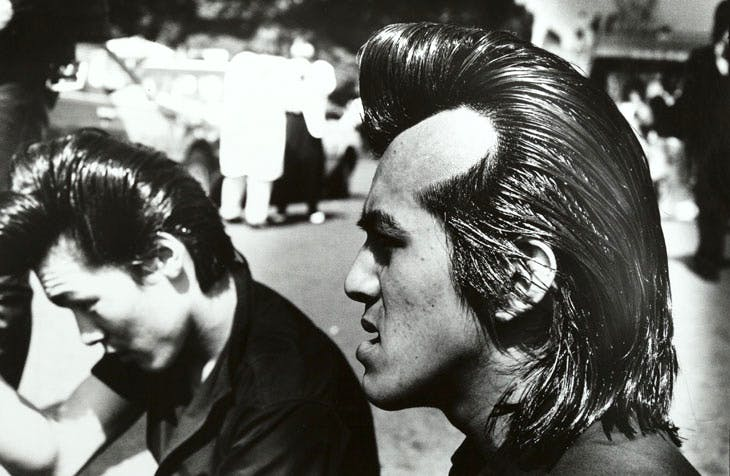 Rockers from Harajuku (1984), Ed van der Elsken.
