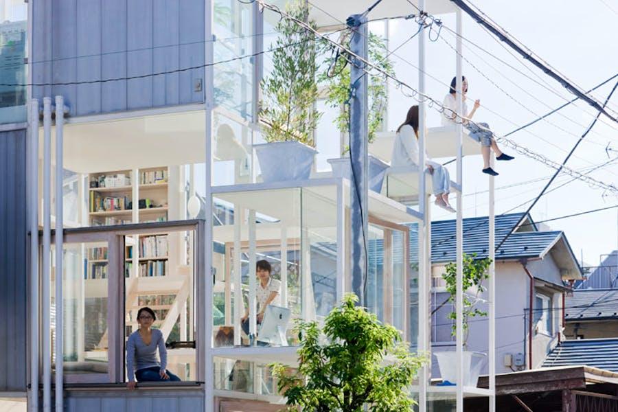 House NA, Tokyo, Japan (2011), Sou Fujimoto Architects. Photo: Iwan Baan