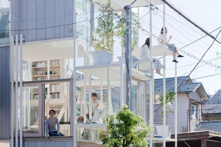 Superb House NA, Tokyo, Japan (2011), Sou Fujimoto Architects. Photo:
