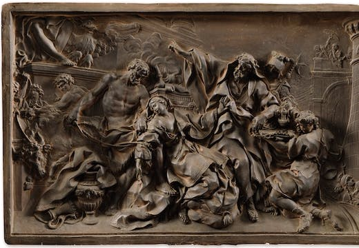 The Martyrdom of Saint Victoria (1737), Nicolas-Sébastien Adam. Sotheby's Paris: estimate €200,000–€300,000