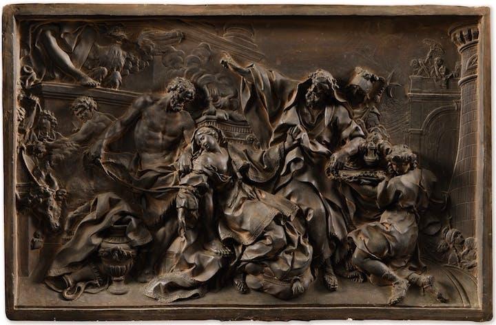 The Martyrdom of Saint Victoria (1737), Nicolas-Sébastien Adam. Sotheby's Paris: estimate €200,000–€300,000