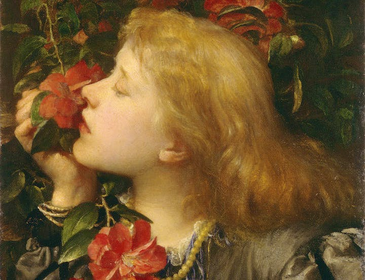 Choosing (Ellen Terry) (detail;1864), G. F. Watts. © National Portrait Gallery, London