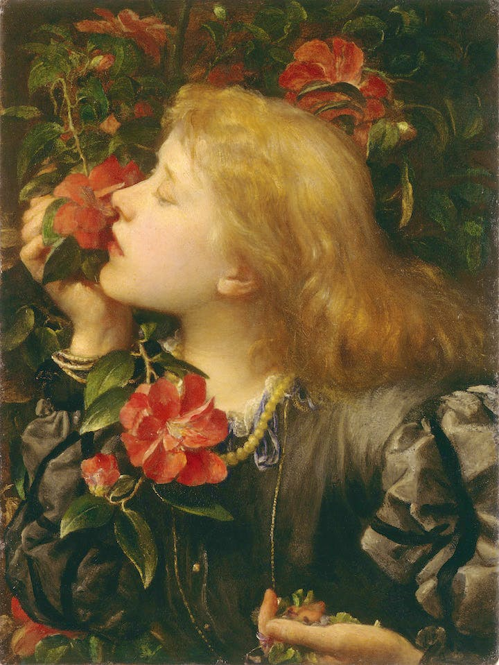 Choosing (Ellen Terry) (1864), G. F. Watts. © National Portrait Gallery, London