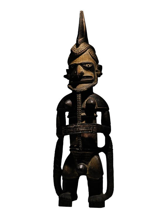 Ancestor statue (Uli), before 1800, New Ireland. Sotheby's New York, sold for $4.7m