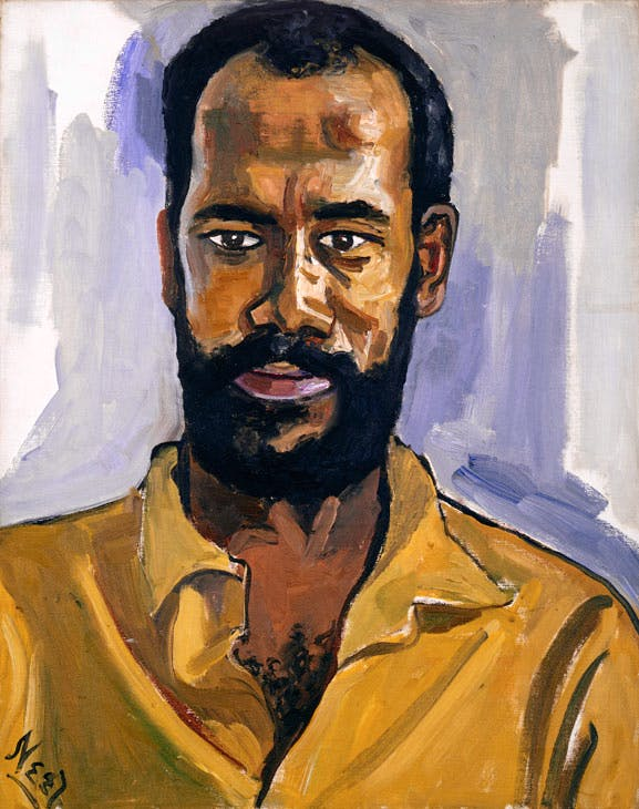 Abdul Rahman (1964), Alice Neel. © The Estate of Alice Neel. Courtesy David Zwirner, New York/London and Victoria Miro, London
